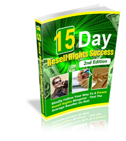 15 Day Resell Rights Success 2nd Edition