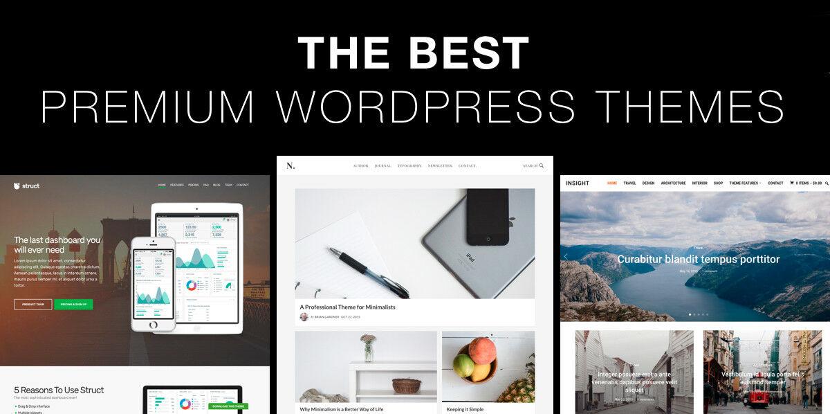 440+ Premium WordPress Themes Pack